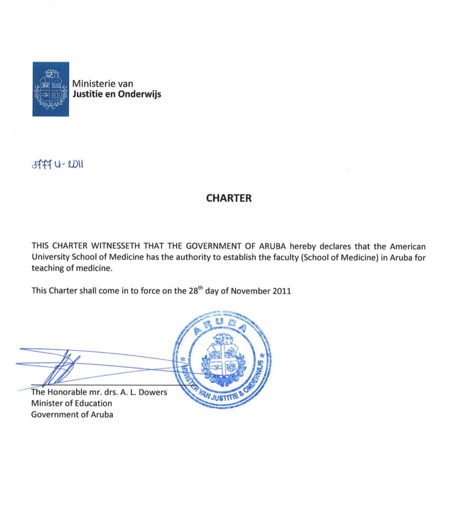 Charter Letter