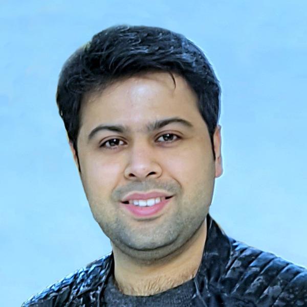 Dr. Abhimanyu Sharma headshot